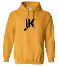 Load image into Gallery viewer, yellow jk mens pullover hoodie