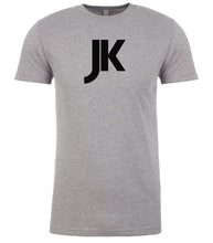 Load image into Gallery viewer, grey jk mens crewneck t shirt