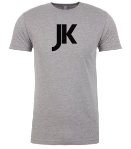 grey jk mens crewneck t shirt