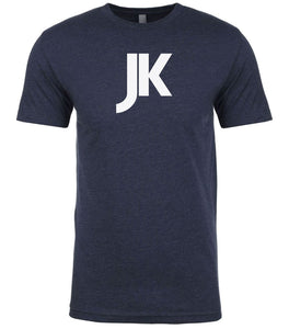 navy jk mens crewneck t shirt