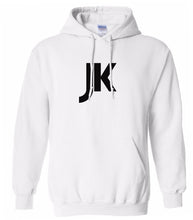 Load image into Gallery viewer, white jk mens pullover hoodie