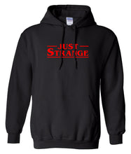Load image into Gallery viewer, black just strange hoodie