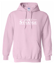Load image into Gallery viewer, pink just strange hoodie