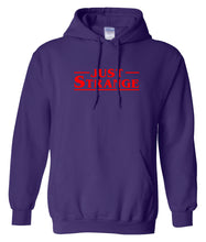 Load image into Gallery viewer, purple just strange hoodie