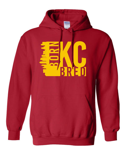 red Kansas City hoodie