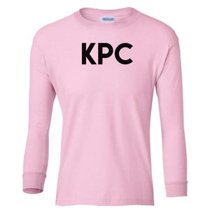 pink KPC youth long sleeve t shirt for girls