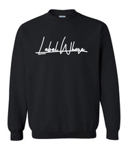 Load image into Gallery viewer, black label whore sweatshirt