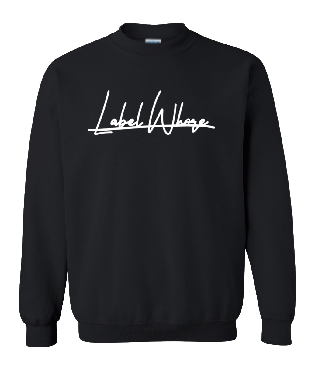 black label whore sweatshirt
