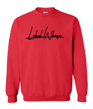 Load image into Gallery viewer, red label whore sweatshirt