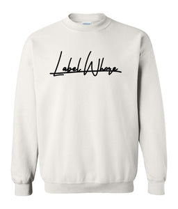 white label whore sweatshirt