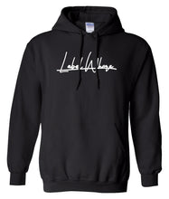 Load image into Gallery viewer, black label whore hoodie