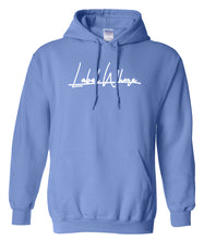 Load image into Gallery viewer, blue label whore hoodie