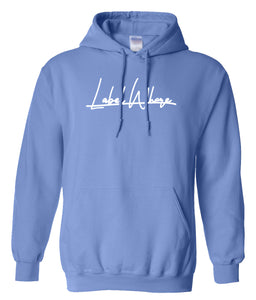 blue label whore hoodie