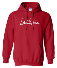 Load image into Gallery viewer, red label whore hoodie