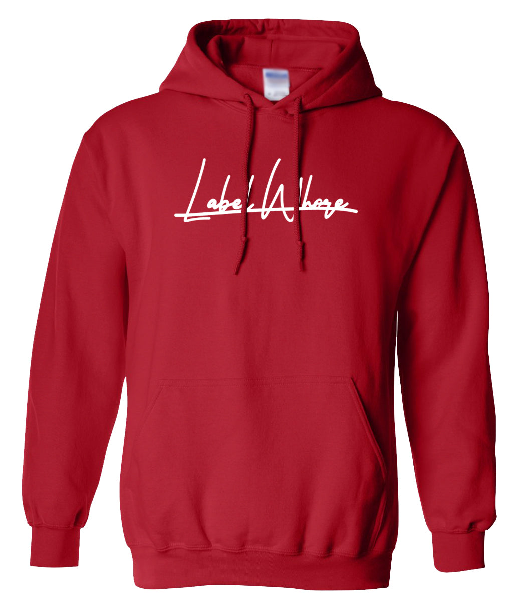 red label whore hoodie