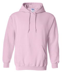 light pink pullover hoodie