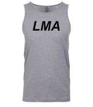 Load image into Gallery viewer, grey lma mens tank top