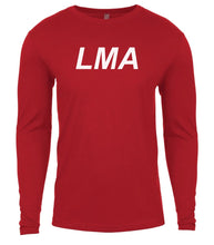 Load image into Gallery viewer, red lma mens long sleeve shirt