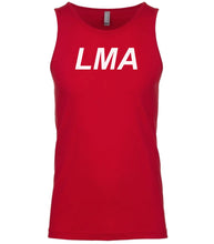 Load image into Gallery viewer, red lma mens tank top