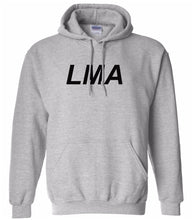 Load image into Gallery viewer, grey lma mens pullover hoodie