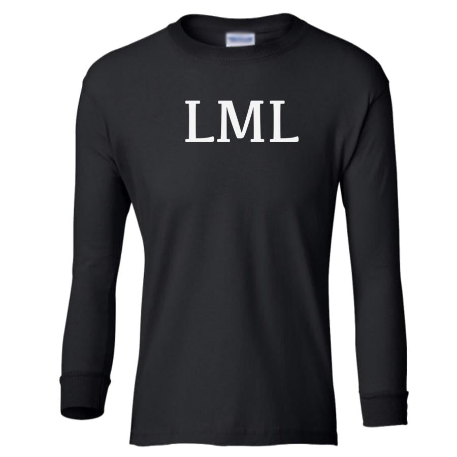 black LML youth long sleeve t shirt for girls