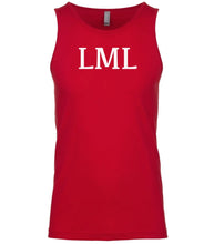 Load image into Gallery viewer, red lml mens tank top