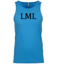 Load image into Gallery viewer, blue lml mens tank top