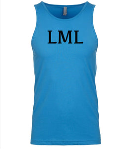 blue lml mens tank top