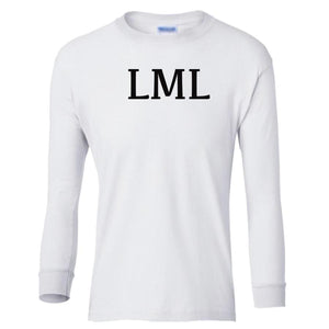 white LML youth long sleeve t shirt for girls