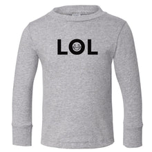 Load image into Gallery viewer, grey LOL long sleeve t shirt for toddlers