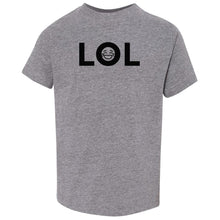 Load image into Gallery viewer, grey LOL crewneck t shirt for toddlers