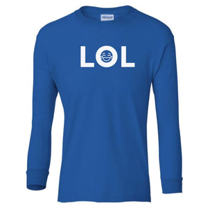 blue LOL youth long sleeve t shirt for boys