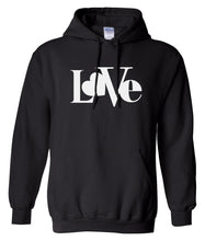 Load image into Gallery viewer, black love valentines day hoodie