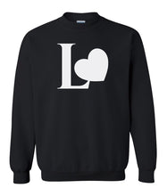Load image into Gallery viewer, Black Love couples valentines day sweatshirt