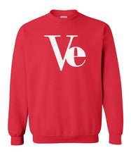 Load image into Gallery viewer, red Love couples valentines day sweatshirt