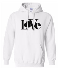 Load image into Gallery viewer, white love valentines day hoodie
