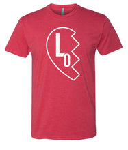 Load image into Gallery viewer, red love matching valentines day t-shirt