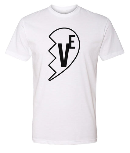 white love matching valentines day t-shirt