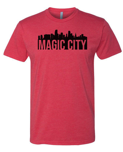 red Miami magic city t-shirt