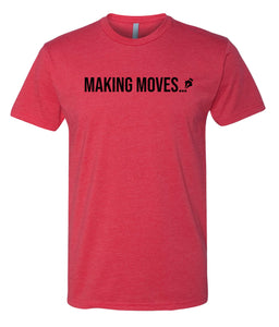 red making moves crewneck t shirt