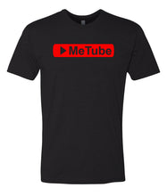 Load image into Gallery viewer, black me tube crewneck t shirt