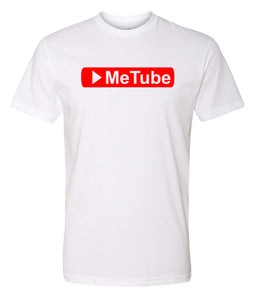 white me tube crewneck t shirt