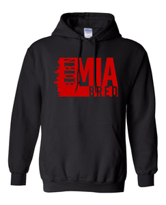 black Miami born and bred hoodie