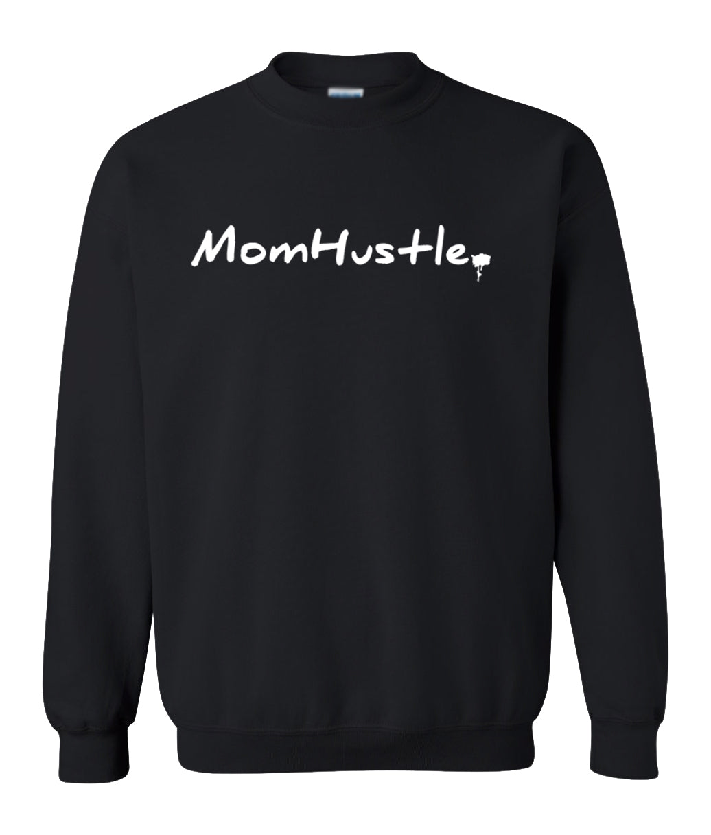 black mom hustle sweatshirt