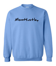 Load image into Gallery viewer, blue mom hustle sweatshirt