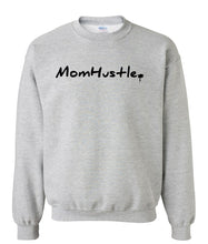 Load image into Gallery viewer, grey mom hustle sweatshirt