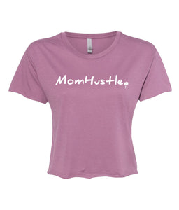 shiraz mom hustle crop top t-shirt