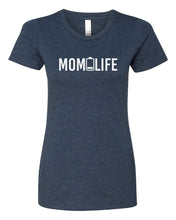 Load image into Gallery viewer, mom life women's t-shirt