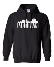 Load image into Gallery viewer, black Detroit Motown hoodie