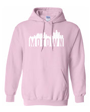 Load image into Gallery viewer, pink Detroit Motown hoodie